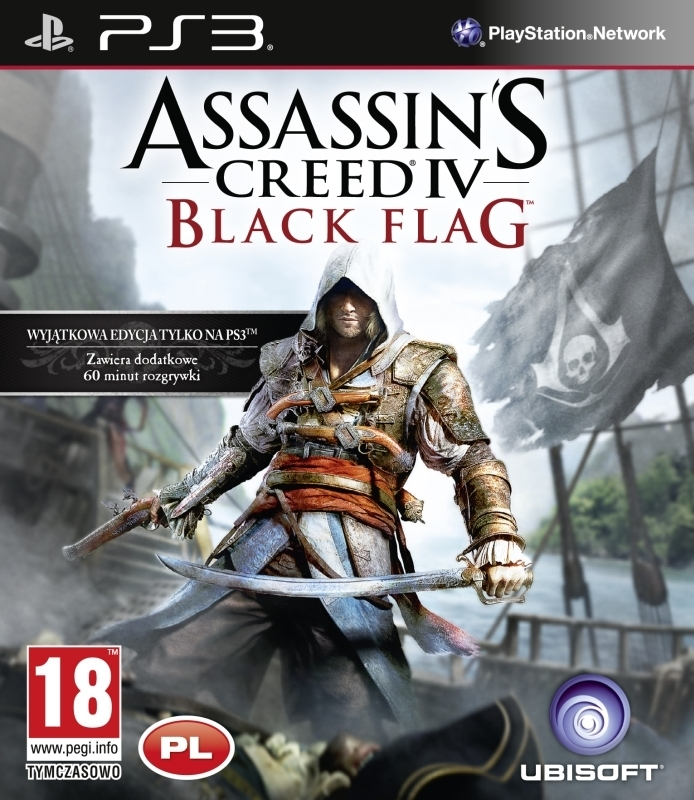 Assassin's Creed IV / 4 Black Flag PL D1 Edition  / Assassin's Creed IV: Black Flag PL D1 Edition  (PS3)